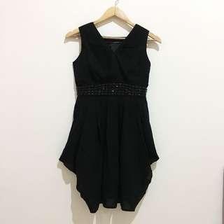 BLF COLLECTION BLACK MINI DRESS