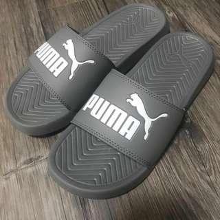 Puma拖鞋灰色全新24.5cm UK6 附鞋盒