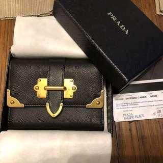 FINAL CALL - Prada cahier wallet