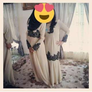 Chiffon Lace Dress