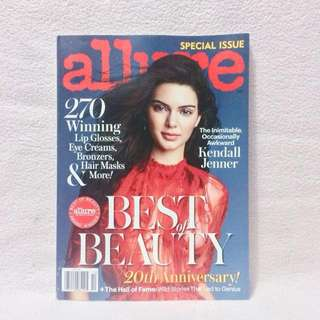 Kendall Jenner October 2016 Special Issue of Allure