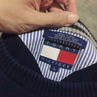 Vintage Tommy Hilfiger Sweater Sz L