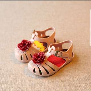 Jelly sandals girl shoe