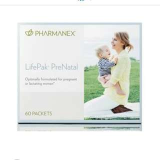 Nu Skin Pharmanex Lifepak Prenatal 美國 媽媽 孕婦 BB 營養 補充劑