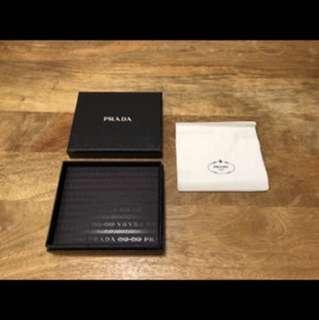 Prada Wallet Box