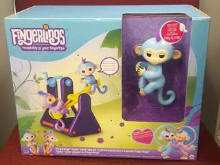 FINGERLINGS PLAYSET WITH 2 FINGERLING MONKEYS