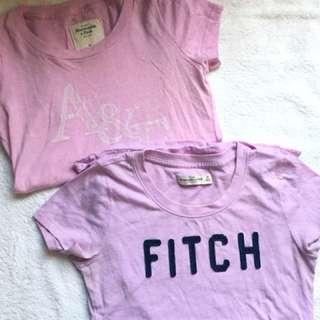 A&F t-shirts