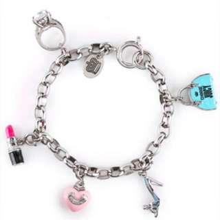 JUICY Couture Mini Charm Bracelet.