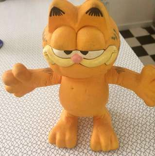 Garfield Vintage 1978/1981 Rubber Doll