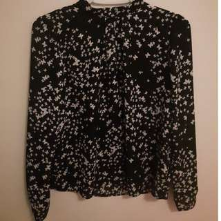CUTE AF butterfly blouse (forever 21)