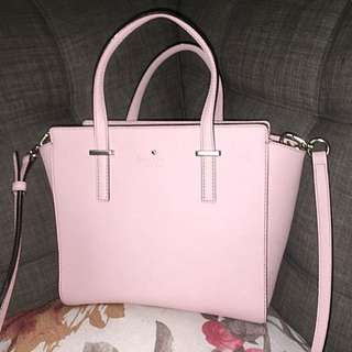 Authentic Kate Spade Purse in Pale Pink
