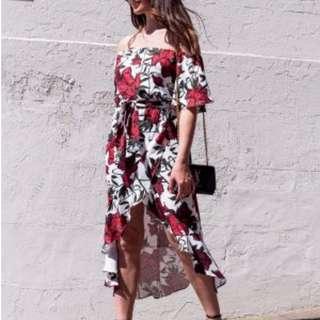 Rodeo Show Rosette Midi Dress Size 8