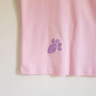 paw embroidered shirt BNWT