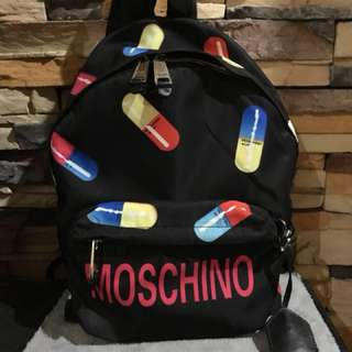 Authentic Moschino Backpack