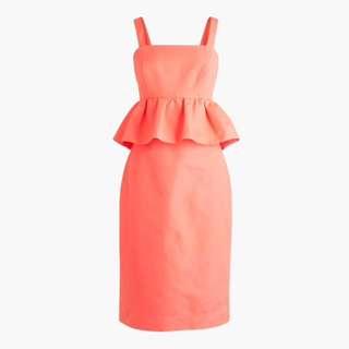 J Crew petite peplum dress