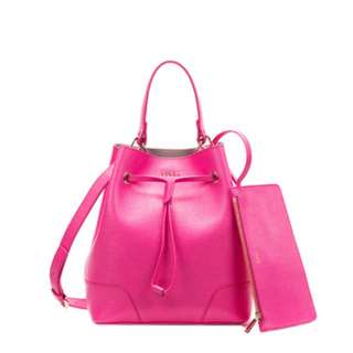 Furla Stacy Bucket Bag Pinky (reduced from $240)