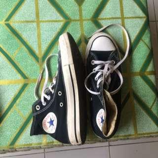 Black High Converse