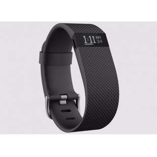Fitbit charge HR - Black Large