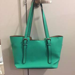 Cute teal purse shoulder purse