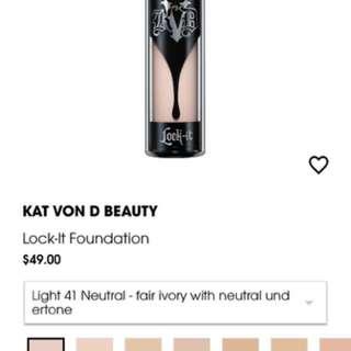 Kat Von D Foundation
