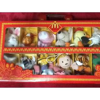 MCDO Chinese Zodiac Stuffed Toy collection