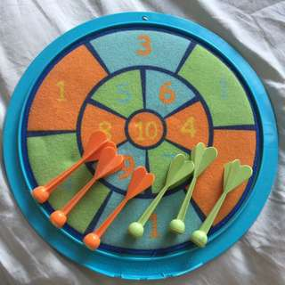 ELC Sticky Dart Board for toddlers