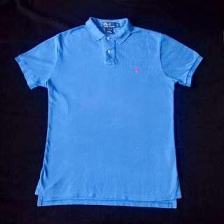 Authentic Ralph Lauren Custom Fit Mesh Polo Shirt