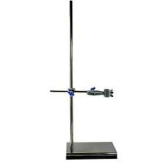 Retort Stand Set (Comes with bosshead & clamp) (material: non magnetic stainless steel, it won't rust)