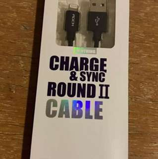 Charge and sync round II Cable