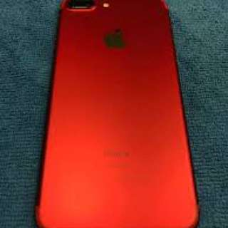 iphone 7 plus red my set