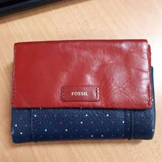 Fossil Ellis Polkadot Red with Box
