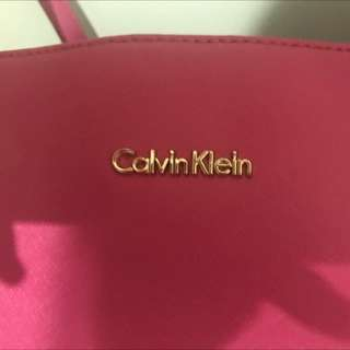 Authetic Calvin Klein Bag
