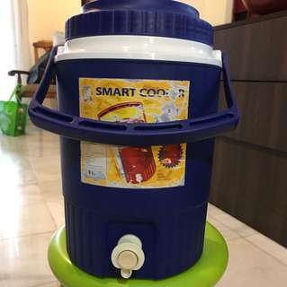 Plastic water cooler