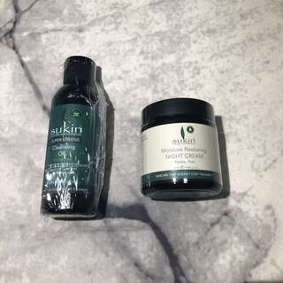 BNIB - Sukin Bundle (Cleansing Oil & Night Cream)