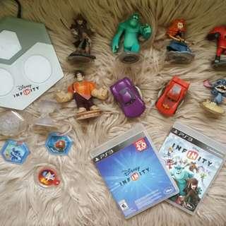 PS3 Disney Infinity Set