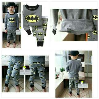 Batman set clothes