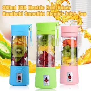 [In Stock] Electric Juice Blender Bottle Portable 380ml