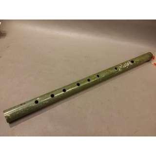 南陽獨山玉橫笛/約37cm