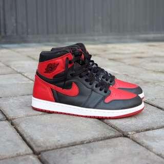 Nike Air Jordan 1 Bred Banned 2016