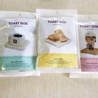 Toast Box nano blocks