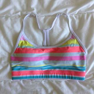 Lorna Jane Cropped Workout Top