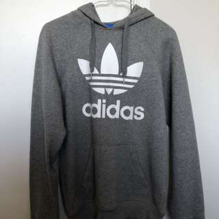 Grey adidas jumper