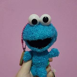 INSTOCK Cookie monster keychain