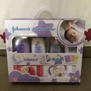 Johnson's Newborn Gift Set 😍