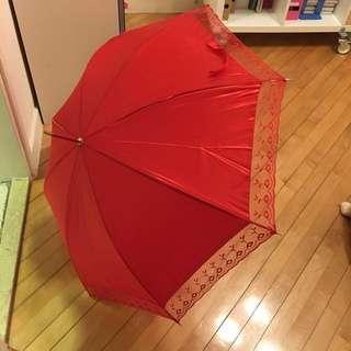 🈹!!! 大減價!!!出門紅傘 ***結婚專用