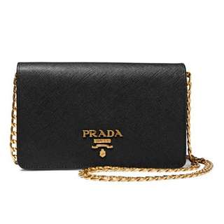 Authentic Prada Wallet On Chain Woc