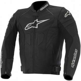 Brand New Genuine Leather Alpinestars Motorbike Jacket Size 42.