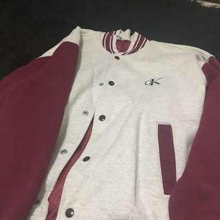 Vintage Calvin Klein varsity jacket