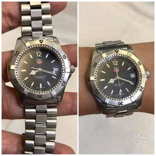 Tag Heuer Authentic Professional Exclusive Mens Watch