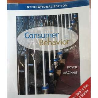 Consumer Behaviour 5th Edition (Hoyer and McInnis)